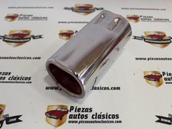 Embellecedor Para Tubos De Escape Universal , Antiguo Stock (55x170x65x88mm aprox.)
