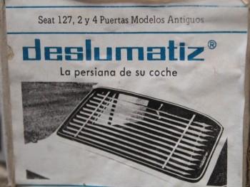 Persianilla trasera Seat 127 2 y 4 puertas modelos antiguos