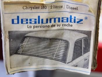 Persianilla trasera Chrysler 180