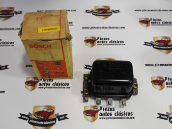 Regulador De Dinamo Bosch Mercedes , Barreiros , Henschel Sura, Nazar , Worthington.... Ref: 0190309005