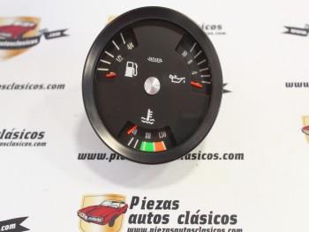 Indicador Combinado Temperatura Agua, Presión Aceite y Combustible Barreiros Turbo 300