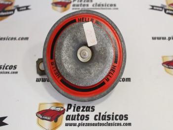 Bocina Hella 71325 / 002768  6V Mercedes , Porsche y BMW