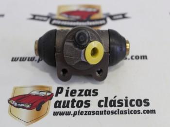 Bombín Freno Trasero Izquierdo Renault Super 5, 9, 11, 14, 18, Fuego... Peugeot 309, 504, 505..., Bendix, 22mm