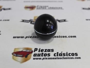 Pomo Palanca De Cambios Citroën 2CV Negro Con Anillo Cromado