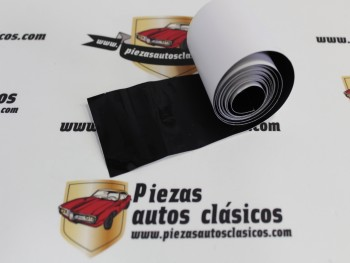 Adhesivo Negro Paragolpes Trasero 2CV Altura 55mm.
