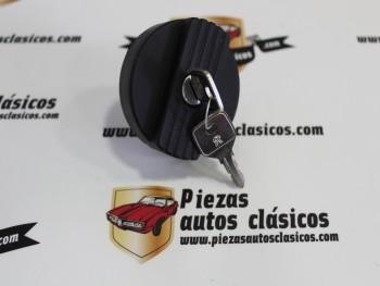 Tapón Gasolina Negro Citroën 2CV