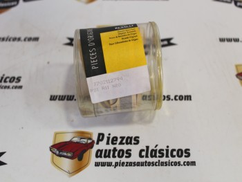 Moldura Adhesiva Delantera Izquierda Negra Renault 11 Ref: 7702112794