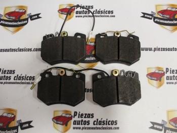 Juego Pastillas De Freno Citroën Visa, AX, ZX, C15 y Peugeot 205, 309 I/II