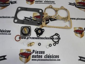 Kit Reparación Carburador Weber DCNVA-DCNVH Talbot 150 y Simca 1200