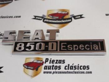 Anagrama Seat 850 D Especial ( Negro )