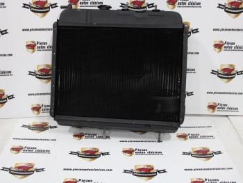 Radiador de motor Renault 4 motor 850 con caja 334 (panel 39,5x25cm)