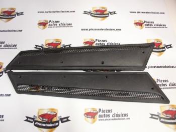 Pareja De Rejillas Laterales Renault 12 TS Ref: 7702109356 / 7702109357