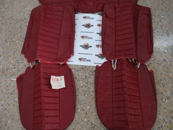 Juego Fundas Asientos Seat 124 D Rojo (antiguo stock)