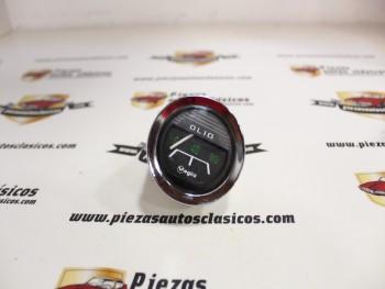 Reloj Presión De Aceite Veglia Cromado Diámetro 52mm