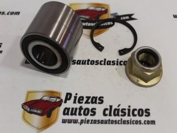 Kit Rodamientos Rueda Trasera Renault 21, 18, 20, 25, Fuego, Espace I... Ref: BG-130 / 7701463986