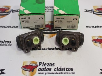 Pareja De Bombines De Freno Traseros Citroën ZX y Peugeot 309 II Ref: 32661289 / 32661290