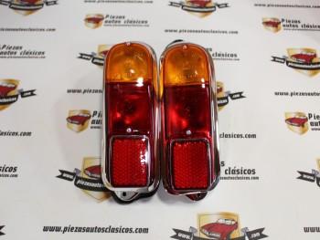 Pareja De Pilotos Traseros Seat 600 E y L (fabricación actual)
