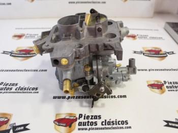 Carburador Weber 32 DRT/101 5D Renault 11 motor 1700 Reconstruido (intercambio)