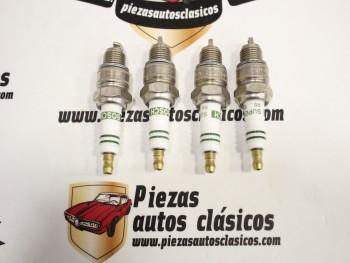 Juego 4 Bujias Renault 4,5,6,7,8,10,12.... Bosch W7BC