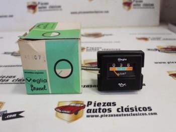 Reloj Presión De Aceite Veglia Rectangular Renault 9