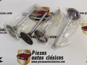 Juego Válvulas Admisión Seat 124 Sport 1600 Ref: 2315