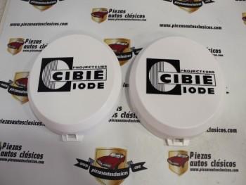 Juego 2 Tapas Cibie Para Faro Oscar Diámetro 180mm ( letras en relieve )