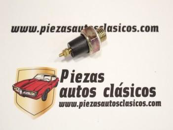 Manocontacto de Aceite Citroën 2CV, Mehari, Dyane 6 Rosca M 12x1,5 Presión 0,5