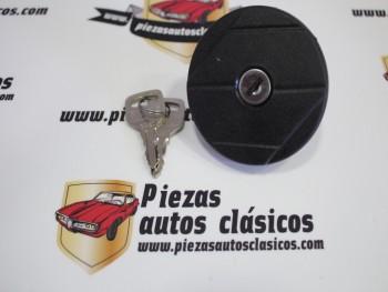 Tapón De Gasolina Negro Renault Super 5, 9, 11, 18, 21, 25, Fuego, Espace I, Express...