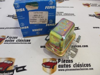 Regulador Alternador  Simca, 1000,1200,Talbot 150 Femsa GRO 12-7
