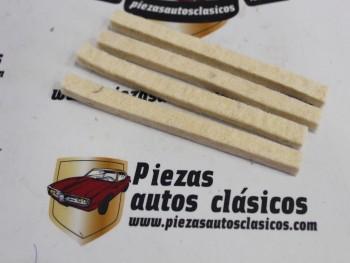 Juego Fieltros Transmisión Renault Dauphine, 4 CV, 8 y 10