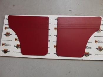Juego 2 Paneles Tapizados Costados Traseros Seat 127 2p. (Antiguo Stock) Granates