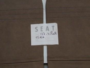 Juego Tapizado De Puertas Marrón Seat 127 4p. Fura (Antiguo Stock)