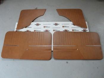 Juego Tapizado De puertas Marrón Seat 850 2p. (Antiguo Stock) (Leve Tara, Ver Fotos)