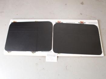 Juego 2 Paneles Tapizados Delanteros Negro Renault 4