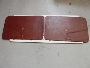 Juego 2 Paneles Delanteros Tapizados Marrón Tabaco Seat 850 2p.