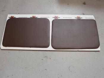 Juego 2 Paneles Tapizados Delanteros Marrón Chocolate Renault 4
