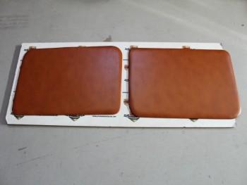 Juego 2 Paneles Tapizados Delanteros Marrón Claro Renault 4