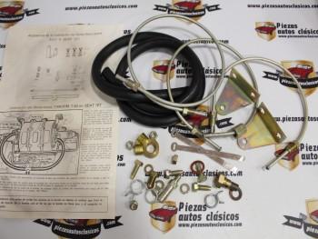 Kit Instalación Para Servofreno Autoplast Tandem 50 y 50 Simple Seat 127