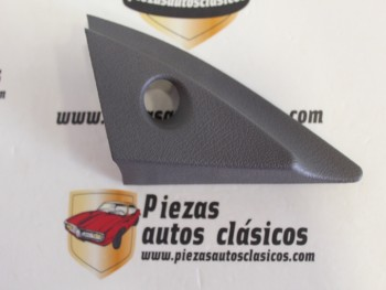 tapa Interior Espejo Retrovisor Derecho Renault 21 Ref: 7700764275/7700764282 Gris Oscuro