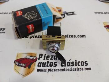 Interruptor Limpiaparabrisas Renault Alpine A110 o Interruptor Ventilador Mini Morris 1100 Femsa CPB8-3