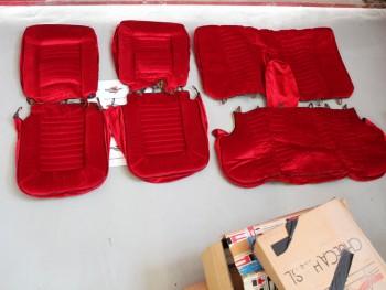 Juego De Tapizados Para Asientos Seat 124 Mod. 1
