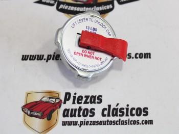 Tapón de radiador Dodge Dart y 3700 GT con palanca de seguridad