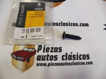 Tornillo Parasol y Asidero Renault Clio Ref: 7703026019