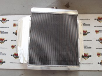 Radiador Aluminio Dodge Dart , Dart GT y 3700GT 3 filas de tubos