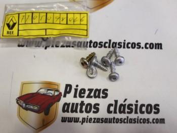 kit 6 Tornillos Sujeción Molduras Laterales Renault 25 Ref: 7705098026