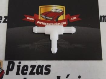 T Manguera Limpiaparabrisas Original Renault 21, 19, Clio.. Ref: 7705030025