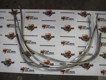 Juego Molduras Paso Rueda Renault 10 Aluminio (Antiguo Stock)