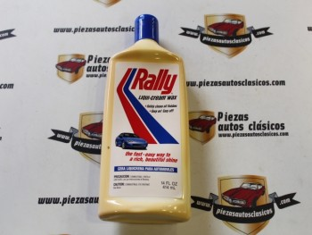 Cera Rally Para Automoviles 414ml Liquicrema