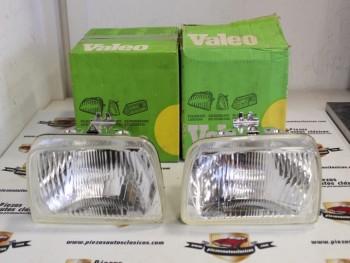 Pareja Opticas De Faro Ford Fiesta Hasta el 84 (Foco Europeo) Ref: Valeo 029340 / 029341