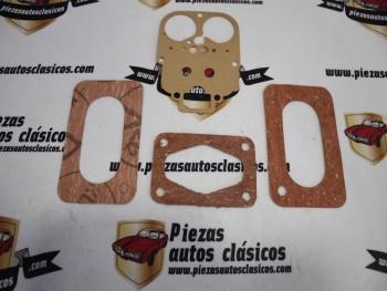Juego juntas carburador weber bressel 30 DIC Seat 850 especial, coupe, 133